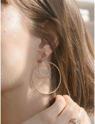 Boucles d'oreilles Cannage,...