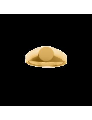 Chevalière Mini, Plaqué Or