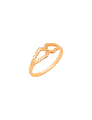 Bague Tilleul, Plaqué or