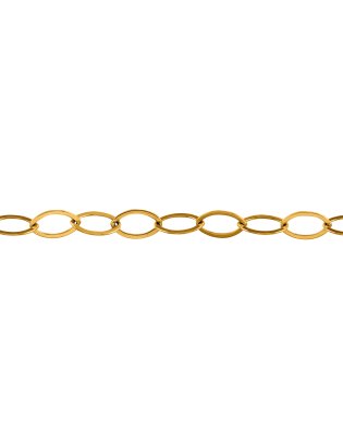 Bracelet Jersey, plaqué or