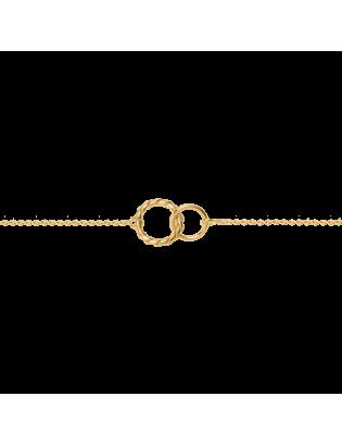 Bracelet Bolero, plaqué or