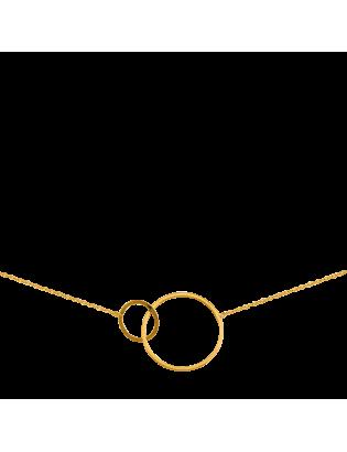 Collier Helios, plaqué or