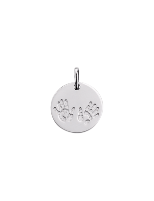 Pendentif Bambin, argent