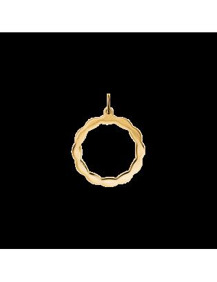 Pendentif Madeleine, plaqué or