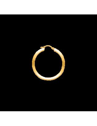 Créoles Maya, plaqué or