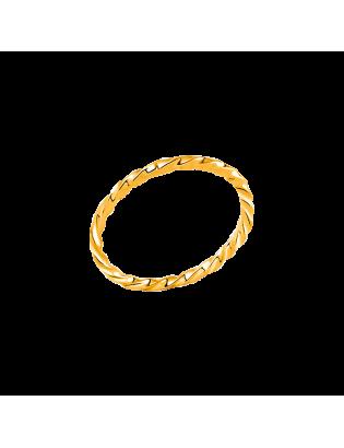 Bague Achille, plaqué or