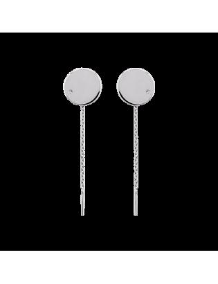 Boucles d'oreilles Moon,...