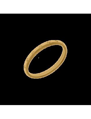 Bague Fable, plaqué or