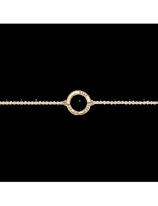 Bracelet Céleste, Plaqué or
