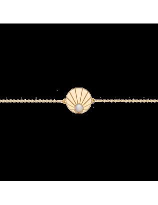 Bracelet Solstice, Plaqué or