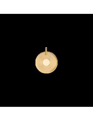 Pendentif Astre, Plaqué or