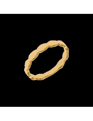 Bague Madeleine, plaqué or
