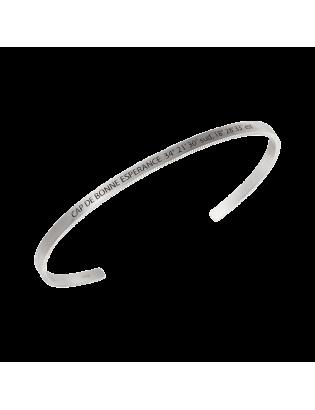 Bracelet Cap, Argent