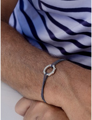 Bracelet Cabestan, Argent