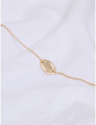 Bracelet Aurore, Plaqué or