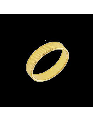 Bague Epicéa, Plaqué or